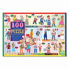 eeBoo Children of the World Puzzle