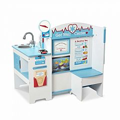 Wooden Get Well Doctor Activity Center