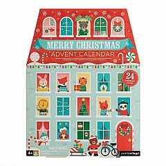 Petit Collage Festive House Pop Out Advent Calendar