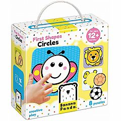 Banana Panda First Shapes Circles Beginner Puzzle Set