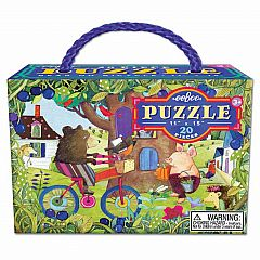 Bear on a Bicycle 20-Piece Puzzle