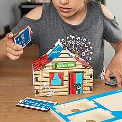 Build It Blueprint Puzzles - CABIN