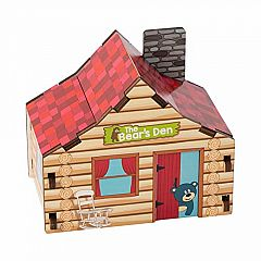 Fat Brain Build It Blueprint Puzzles - CABIN