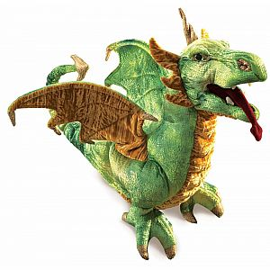 Dragon, Wyvern Hand Puppet