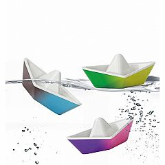 Color-Changing Origami Boats Bath Toy Set