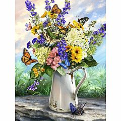 Puzzles to Remember - Butterfly Blossoms 36-Piece Puzzle