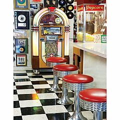 Springbok Puzzles to Remember - Malt Shop 36-Piece